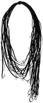 Maria Calderara stoned strings necklace