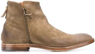 Silvano Sassetti Worn-Effect Boots