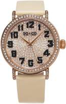 SO & CO New York Women's 5221.3 Madison Quartz Wrist Watches