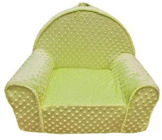 Zoomie Kids Hyde Minky Dot Toddlers Personalized Kids Chair Color: Green