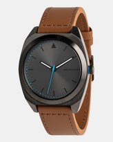 Quiksilver Mens The PM Leather 40mm Watch