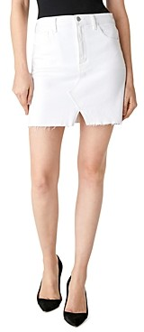 J Brand Jules Denim Mini Skirt