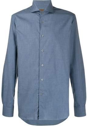 Corneliani houndstooth shirt