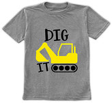 Urban Smalls Heather Gray 'Dig It' Crewneck Tee - Toddler & Boys