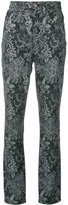Marc Jacobs paisley print trousers