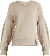 Burberry Round-neck cotton-jersey sweatshirt