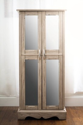 Mirrored Jewelry Armoire The, Ashley Furniture Mirror Jewelry Armoire