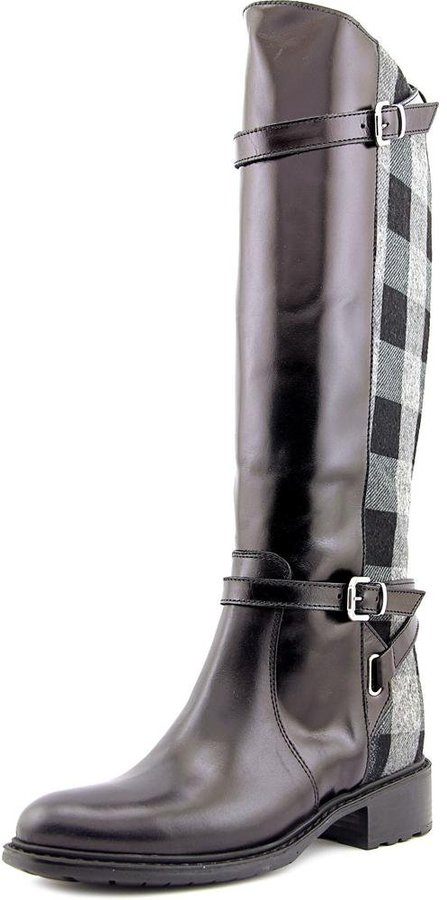 Charles David Pirella Women US 7 Black Knee High Boot EU 37.5