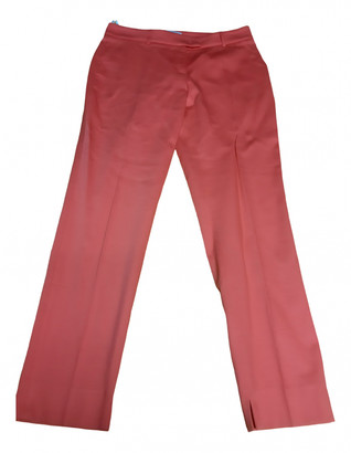 Cappellini Pink Cotton Trousers for Women