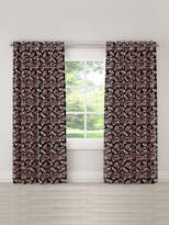 Skyline Furniture Floral Blackout Linen Curtain