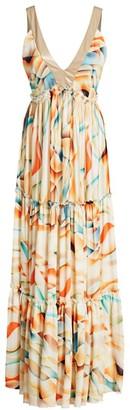 le superbe Las Flores Midi Dress