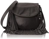 Cynthia Vincent Fringe Cross-Body Bag