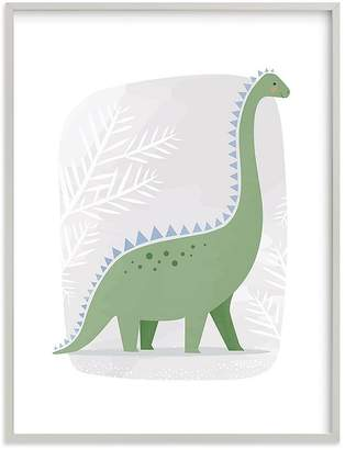 Pottery Barn Kids Happy Dino Wall Art by Minted®, 11x14, Black