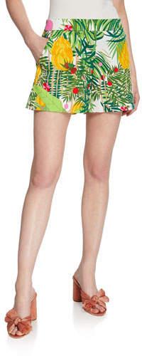 Trina Turk Coccoloba Printed Shorts
