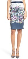 Ted Baker Women's Carpi Floral Print Pencil Skirt