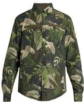 Valentino Tropical-print Reversible Jacket