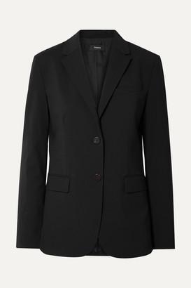 Theory Classic Wool-blend Blazer - Black