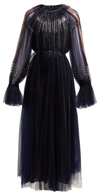 b64d64a502a4d Valentino Dress Beaded - ShopStyle
