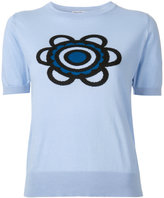 Holly Fulton Flora knitted T-shirt - women - Cotton - M