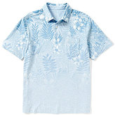 Tommy Bahama Short-Sleeve Floral Fade Polo Shirt
