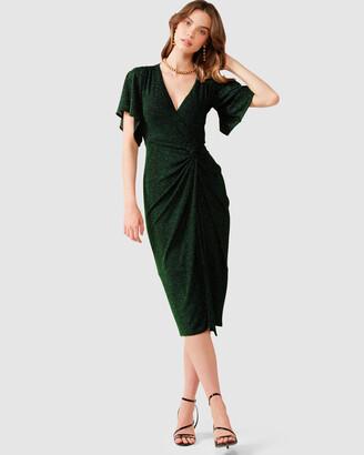SACHA DRAKE - Women's Green Dresses - Emporium Dress - Size One Size, 10 at The Iconic