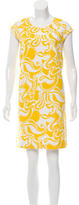 Kate Spade Abstract Print Shift Dress