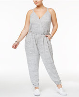 American Rag Trendy Plus Size Jogger Jumpsuit, Only at Macy's