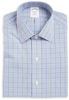 Brooks Brothers Gingham Plaid Dress Shirt
