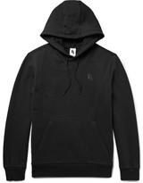 Nike Essentials Loopback Stretch-cotton Jersey Hoodie - Black
