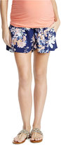 Jessica Simpson Printed Maternity Shorts