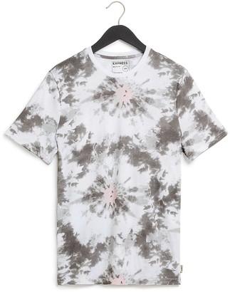 Express Tie-Dye Crew Neck T-Shirt