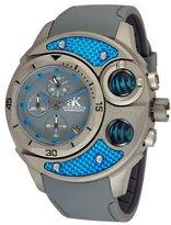 Adee Kaye Men's AK8001-MT Commando Sports Chronograph Watch