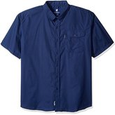 Rocawear Men's Big and Tall Drive in Short Sleeve Shirt