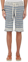 Lemlem Men's Mixed-Stripe Cotton Shorts