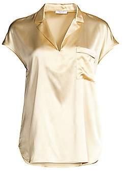 Peserico Stretch Silk Blouse