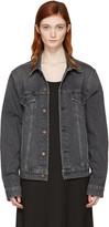 6397 Black Jean Jacket