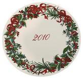 Martha Stewart 6846 Holiday Garden 2010 White Porcelain Plate 12 Inch Bhfo