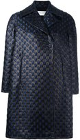 Gianluca Capannolo brocade oversized coat - women - Silk/Polyamide/Polyester/Virgin Wool - 40