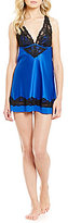 Cassandra Muse Satin and Lace Chemise