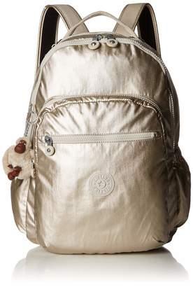 Kipling Seoul Go Laptop Padded Adjustable Backpack Straps Zip Closure