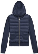 Moncler Girls' Puffer & Knit Cardigan - Sizes 8-14