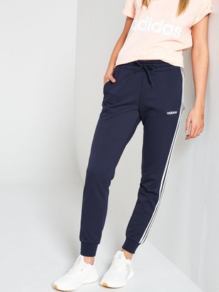 adidas Essential 3 Stripe Pant - Navy