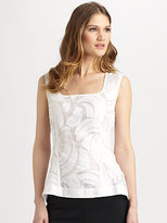 Lafayette 148 New York Cotton/Silk Idina Top