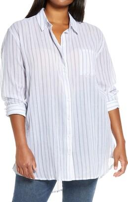 Treasure & Bond Stripe Woven Tunic