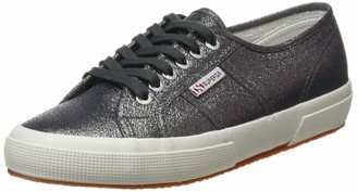 Superga 2750 Lamew Shoes in Glitter Rose Gold Pink 916 [UK 5.5 EU 39]