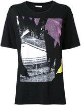 6397 glitch print T-shirt - women - Cotton - M