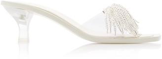 Cult Gaia Uma Beaded Leather Sandals