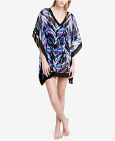Calvin Klein Layered Chevron Kaftan Coverup Women's Swimsuit