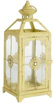 Pier 1 Imports Jeweled Yellow Lantern - Small