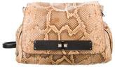Barbara Bui Brown Python Shoulder Bag
